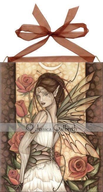 Gypsy Rose Tile <BR>by Jessica Galbreth