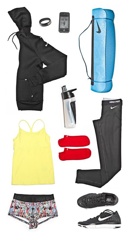 Jeanette Jenkins' spring training must-haves. #training #gear #nike