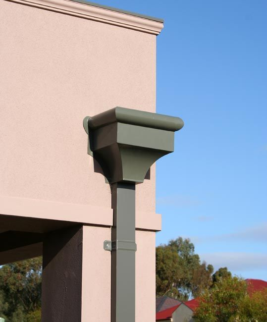 Roof Gutter Downpipe Our Roof Drain Pipe Or Downpipe Repair