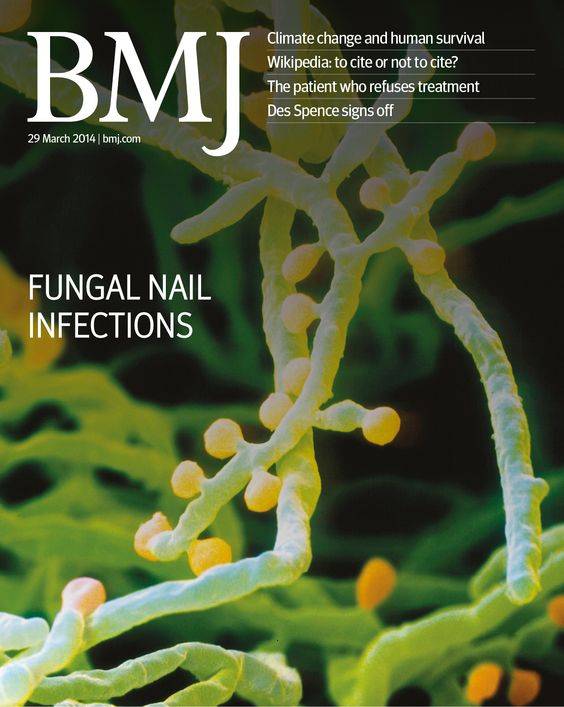This week covers everything from fungal nail infections to climate change to wikipedia citations http://www.bmj.com/content/348/7951