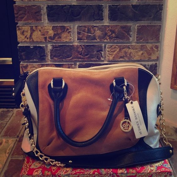 ysl rive gauche bag - Gorgeous Audrey Brooke Tri-colored handbag!!NWT | Handbags, With ...