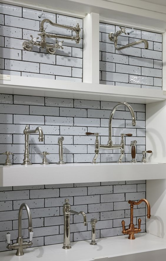 Bath And Kitchen Fittings In The London Showroom Kitchen Design