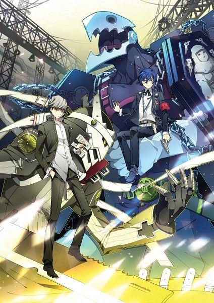 Persona 3 4 - Yu Narukami and Makoto Yuuki