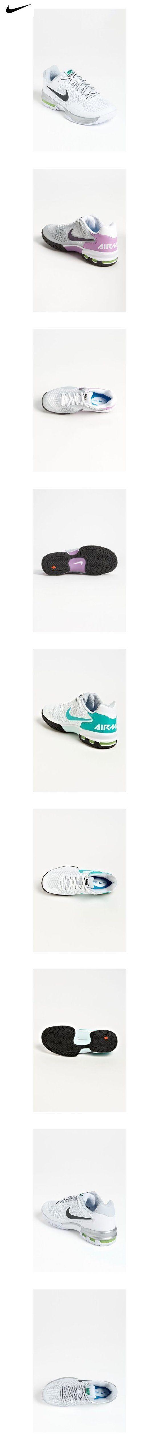 Nike Women's Air Max Cage White/Pure Platinum/Volt/Anthracite B - Medium
