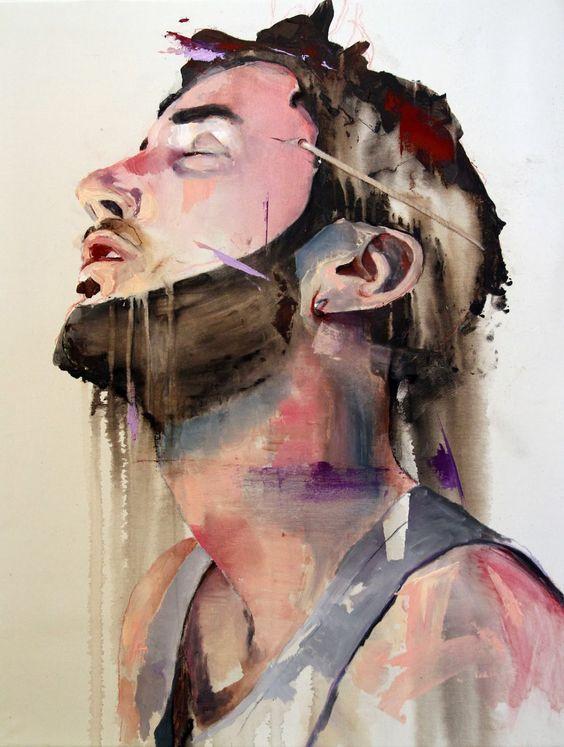 Schön malen ist langweilig! - findet Lou Ros   Art Armada