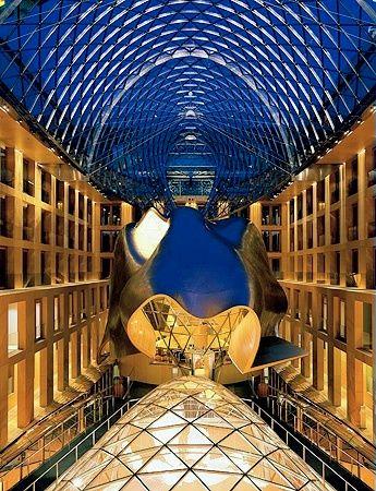 DZ Bank building - Pariser Platz - Berlin - Frank Gehry -2000