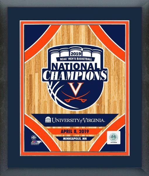 Uva Virginia Cavaliers 2019 Ncaa Men S Basketball National Champions Framed 11x14 Photo Aawe154 National Champions Virginia Cavaliers Mens Basketball