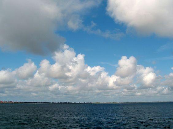 Ostfriesland, Himmel über Baltrum