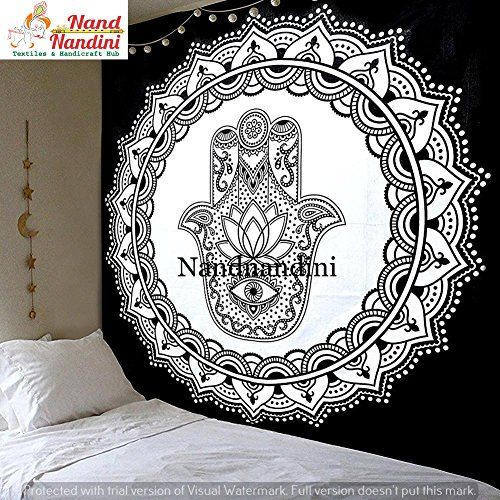 Boho Mandala Tapisserie Hippie Wandbehang böhmischen Bettdecke Decke Decke DE