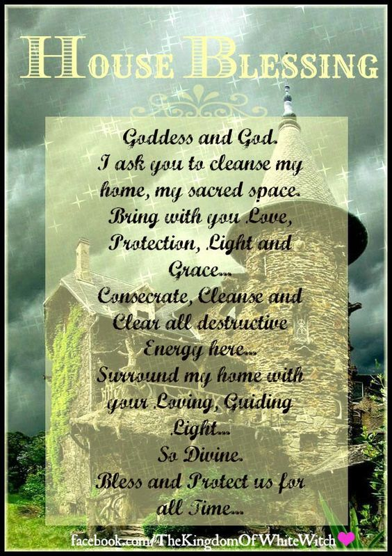 House Blessing Pagan Blessings Pinterest House