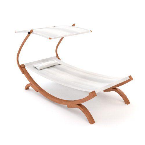 Ampel 24 Sonnenliege Panama Mit Dach Creme Weiss Gartenliege Mit Holzgestell Wetterfest Sonnendach Ver Gartenliege Gartentisch Mit Stuhlen Outdoor Sofa Sets