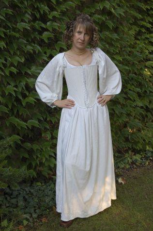 Tailor's - Hanka, Baroque corset, part 1