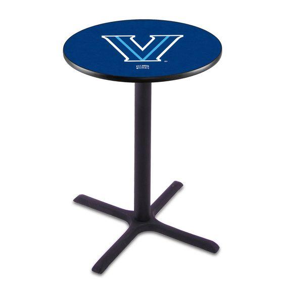 Classic Black Base Villanova Wildcats Pub Table