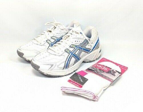 pianista periscopio Calificación  Asics Gel-170TR Running Shoes Women's Size 6.5 EE White Leather (sb16ep) EU  37.5 #ASICS #RunningShoes | Womens running shoes, Leather, Asics