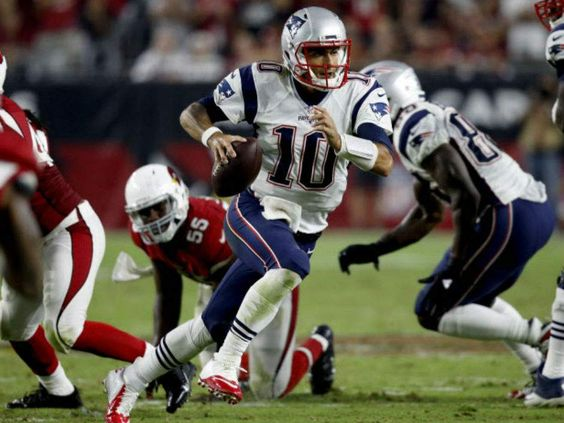 Garoppolo steps up for Brady-less Patriots to lead way in season-opening upset of Arizona Cardinals
