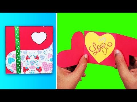 How To Make Love Greeting Card Diy Valentines Day Cards
