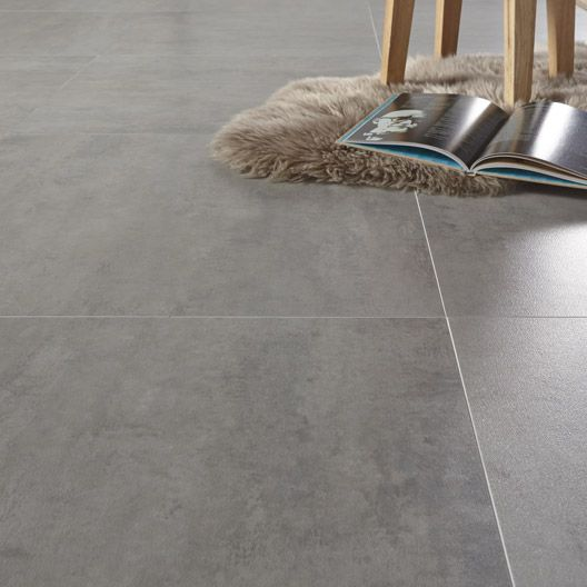 Dalle pvc adh sive caractere distinctive light sugar gerflor x cm - Dalle pvc leroy merlin ...