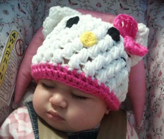 Hello Kitty Hat, SuperSweetStuff on Facebook