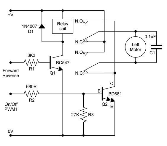 Bridge Relay Circuit Diagram
