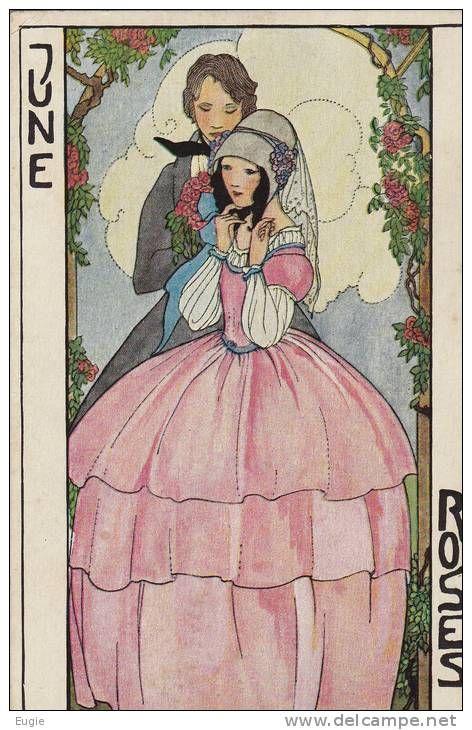 rie cra er | 721/ 2 oude kaarten van Rie Cramer, Bim Bam Beieren, en June, Roses ...