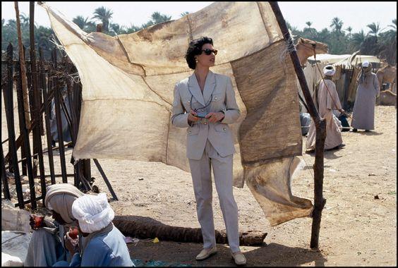 Ferdinando Scianna EGYPT, Cairo: Fashion story.
