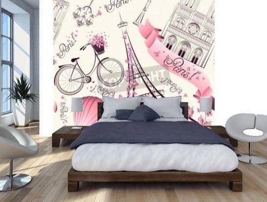 epingle sur papier peint chambre ado fille