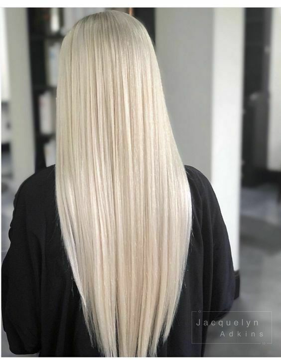 Ugeat 5pcs Clip In Human Hair Extensions Pure Color Remy Straight
