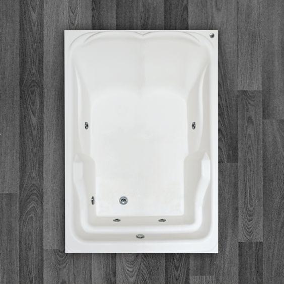 Com um belo design que oferece conforto e bem estar, a Banheira Água Marinha é fabricada com produtos de alta qualidade e acompanha os seguintes acessórios:     4 Jatos cromadosa 1 Entrada de água 1 Saída de água 1 Entrada de ar (arejador) 1 Sucção 1 Motor bomba 1/3 cv Tubulação de água dos bicos de hidromassagem Tubulação de ar dos bicos de hidromassagem