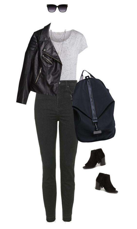 """""""Back to Black !"""" by azzra ❤ liked on Polyvore"""