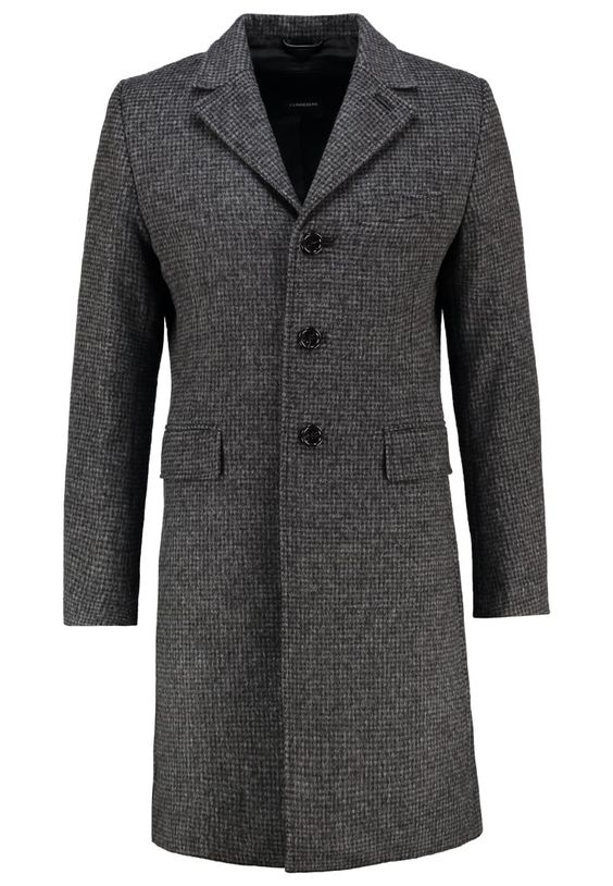 J.LINDEBERG WOLGER Wollmantel / klassischer Mantel beige/black Premium bei Zalando.de   Material Oberstoff: 45% Wolle, 21% Polyamid, 21% Polyacryl, 13% Polyester   Premium jetzt versandkostenfrei bei Zalando.de bestellen!