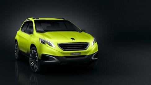 Conheça o Peugeot 2008, crossover conceito que aparecerá no Paris Motor Show