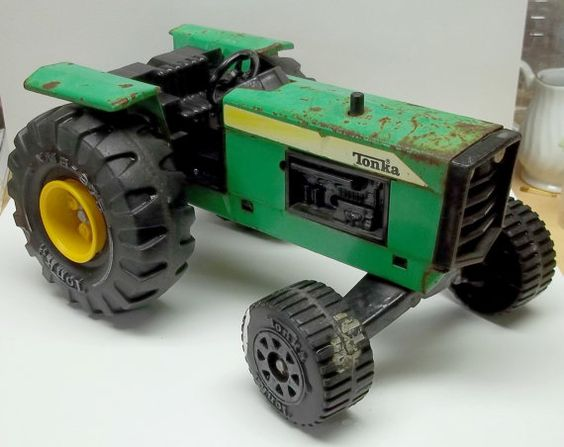 Vintage Tonka Tractors : Vintage boy rooms and yellow on pinterest