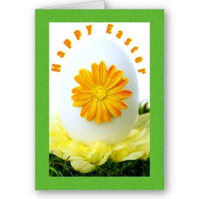 $3.35 #cards #easter #zazzle #elenaindolfi Happy Easter Greetings Card by elenaind