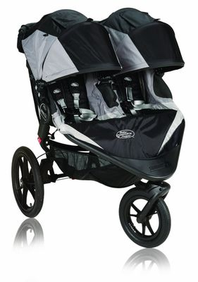 Best Double Jogging Strollers - Baby Jogger Summit X3 - black