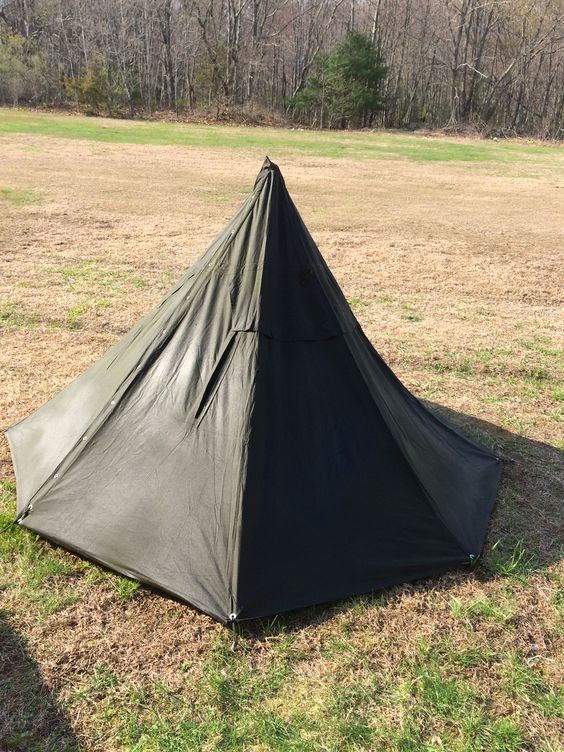 Polish Lavvu poncho tent. Just heavily waterproofed. & SnugPak All Weather Shelter Tarp - (10u0027 x 10u0027) - Material: 210T ...