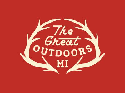 Dribbble - The Great Outdoors - Michigan by Neil Tasker