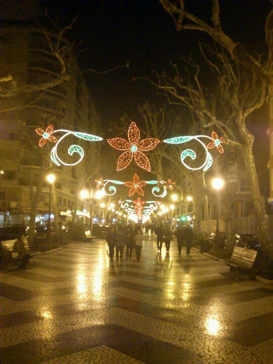 Passeig Germanies en Gandía, Valencia