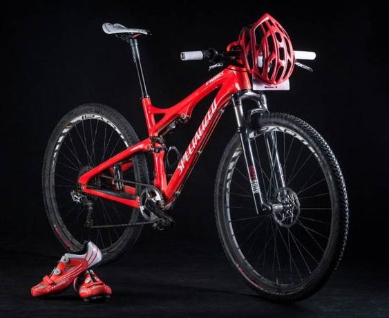 La nueva Specialized Epic S-Works 29er de Jaroslav Kulhavy en color oro olímpico, con edición limitada disponible | TodoMountainBike