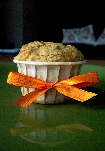 sugar free carrot pineapple muffins