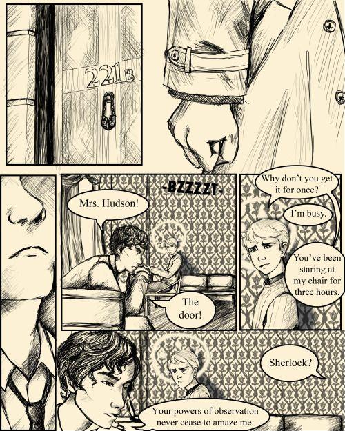 😍 superwholock Comic. Awesome
