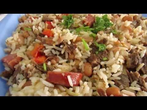 Receita De Baiao De Dois Simples Youtube Baiao De Dois Baiao