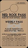 Coconino Red Rock Weekly Pass