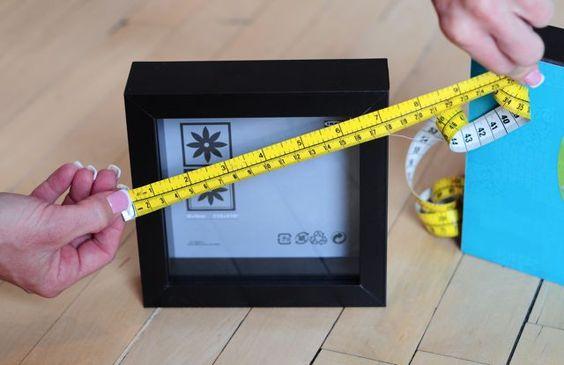 Create your own Wall Art Gallery! (w/ Ikea frames)