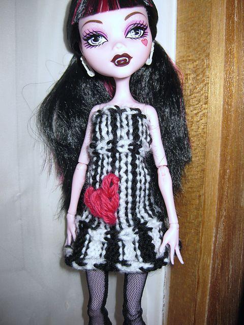 Knitting Patterns For Monster High Dolls : Monster high dolls, Monster high and Heart dress on Pinterest