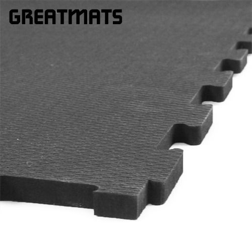 Rubberlock 1 2 Inch Black 4x4 Ft Gym Flooring Gym Flooring Tiles Rubber Tiles