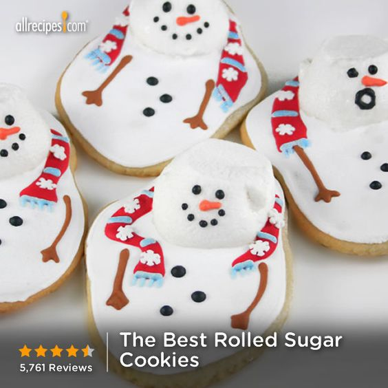 "... Best Rolled Sugar Cookies | ""These cookies are my go-to for rolled"
