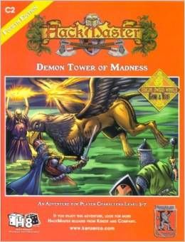 Hackmaster Adventure Demon Tower of Madness