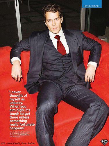 Henry Cavill-GQ UK Magazine June 2013-03 | Thanks to Team HC… | Flickr