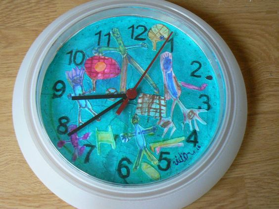 Avec horloge ikea f te des parents pinterest ikea for Ikea horloge