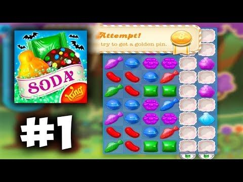 Candy Crush Soda Levels 1 8 Game Walkthrough Gameplay Ios Android Part 1 Youtube In 2020 Candy Crush Games Candy Crush Candy Crush Soda Saga